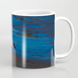 A Seagull At Sunrise On The Shore Coffee Mug