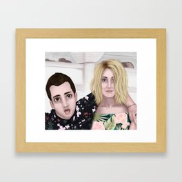 Tyler and Jenna Framed Art Print
