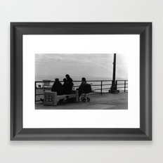 Family Tide Framed Art Print