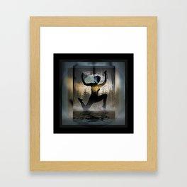 Yoga Forest Framed Art Print