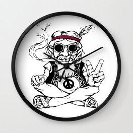Hippy Master Wall Clock