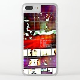 Lust For Being Born Slippy Clear iPhone Case