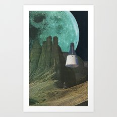 Månen (Luna) Art Print