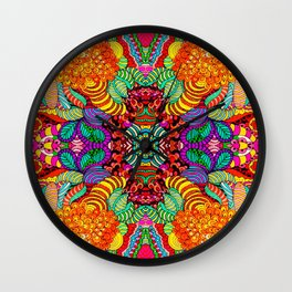 Cheers art print Wall Clock