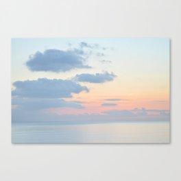 Rio Del Mar Sunset Canvas Print