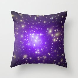 1855. Abell 1689: A Galaxy Cluster Makes Its Mark Throw Pillow