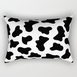 Moo Cow Print Rectangular Pillow