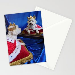 King Max Contemplating His Royal Duties Stationery Cards