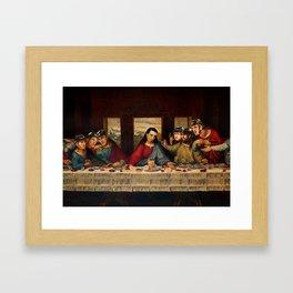 The Last Shutout Framed Art Print