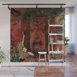 Forbidden Luau Tiki Party Wall Mural