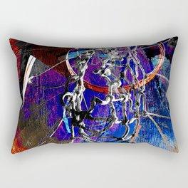 Moden Basketball art 9 Rectangular Pillow