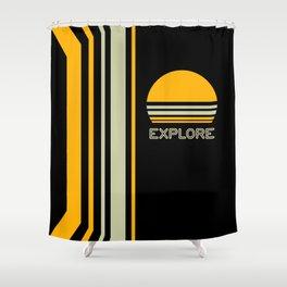 Explore Shower Curtain