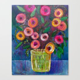 A Bouquet of Joy Canvas Print