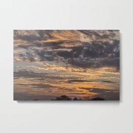 Pastel Sunset pt.2 Metal Print