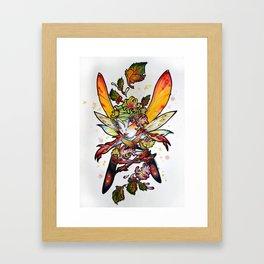 Chrysantheme Fairy Framed Art Print