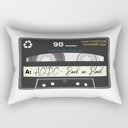 Old Cassete Rectangular Pillow
