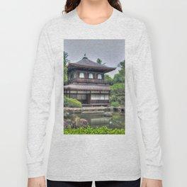 Ginkaku-ji Temple Kyoto Japan Long Sleeve T-shirt