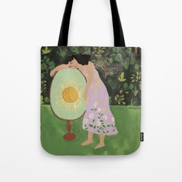 Sister of the Sun Tote Bag