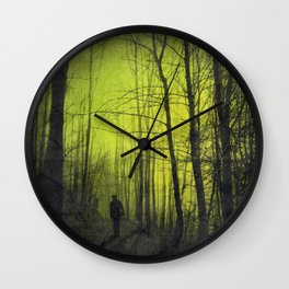 scene from a nightmare Wall Clock