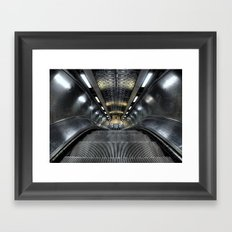 Escalator Framed Art Print