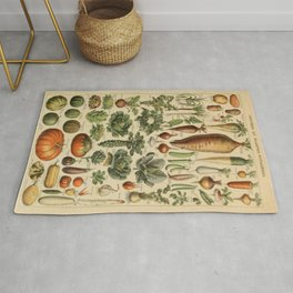 Vegetable Chart Rug