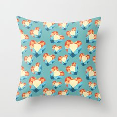 allotropes of carbon II Throw Pillow