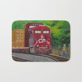 CP Train and Worke Bath Mat