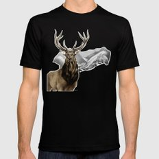 Heart of The Hunted MEDIUM Mens Fitted Tee Black