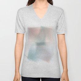 Blurred Colors Unisex V-Neck