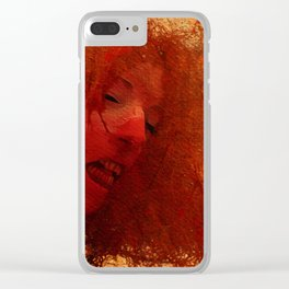 Maneater - Vampire Clear iPhone Case