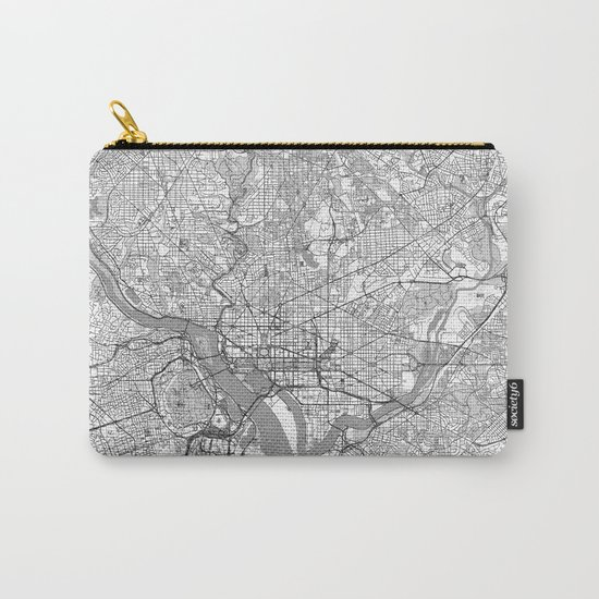Washington Map Line Carry-All Pouch