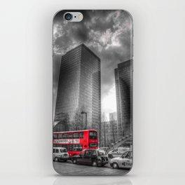 Double Decker London Bus iPhone Skin