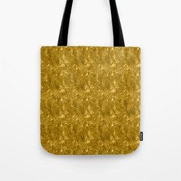 Gold Marble Design Tote Bag