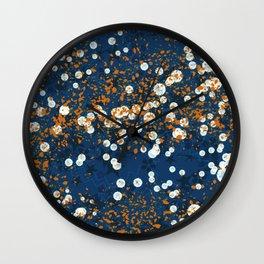 Ink Blots Wall Clock