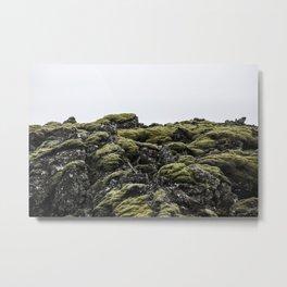 Lava Rocks Metal Print