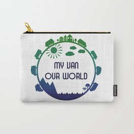 My Van Our World -  Ocean Carry-All Pouch