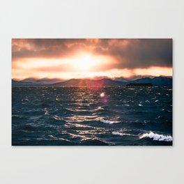 LAKE CHAMPLAIN SUNSET Canvas Print