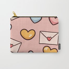 Sweet love seamless pattern Carry-All Pouch