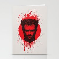 xmen Stationery Cards featuring Logan by Fimbis