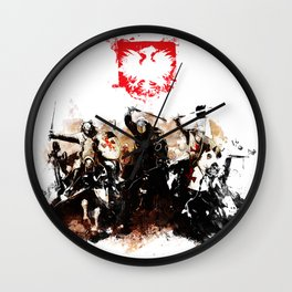 Polish Power Wall Clock