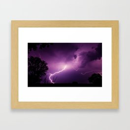 Nature's Awesome Power Framed Art Print