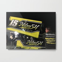 Nitro 54 Metal Print