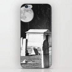 Spooky Graveyard iPhone & iPod Skin