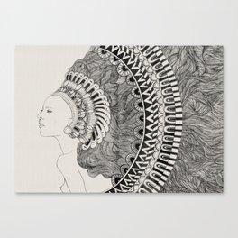 Imaginary Lady Canvas Print