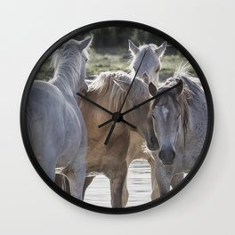 Family Time cr Wall Clock