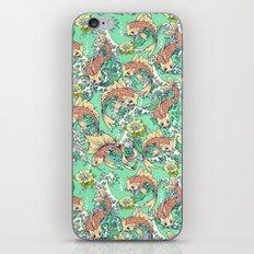 Golden Koi Fish in Pond iPhone & iPod Skin