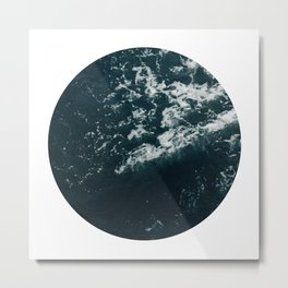ocean porthole III Metal Print