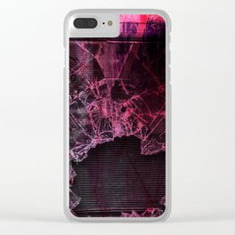 Broken window theory Clear iPhone Case