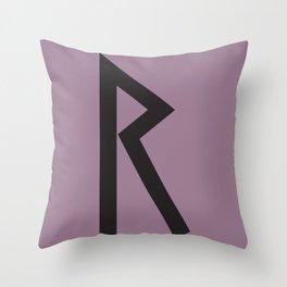 Showtasting - Rune 4 Throw Pillow