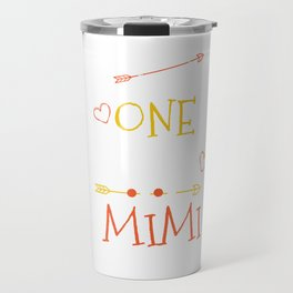 One Thank Mimi Happy Thanksgiving Day Travel Mug